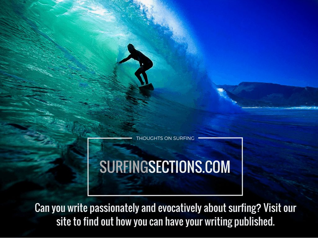 Surfing Sections CONTRIBUTOR