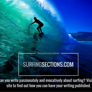 Can You Write Passionately and Evocatively About Surfing?