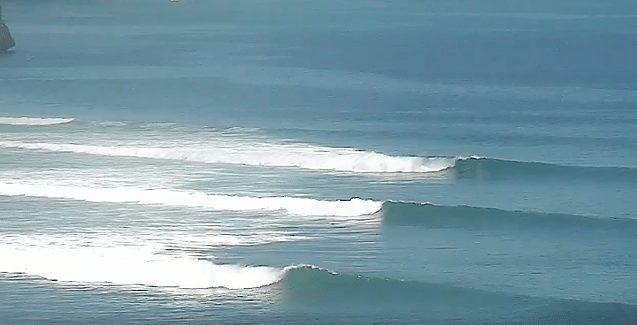 Impossibles surf during Nyepi festival