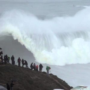This is Exactly What You Don't Want to Happen on Your First Ever Wave At Nazaré