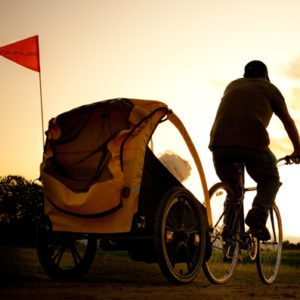 Why the Arrival of Kids Doesn't Mean an End to Cycling to the Beach