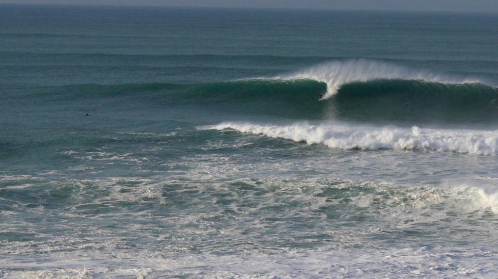 Newquay's big wave surf spot