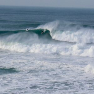 Cornwall's Big Wave Spot 'The Cribbar' Roars into Life