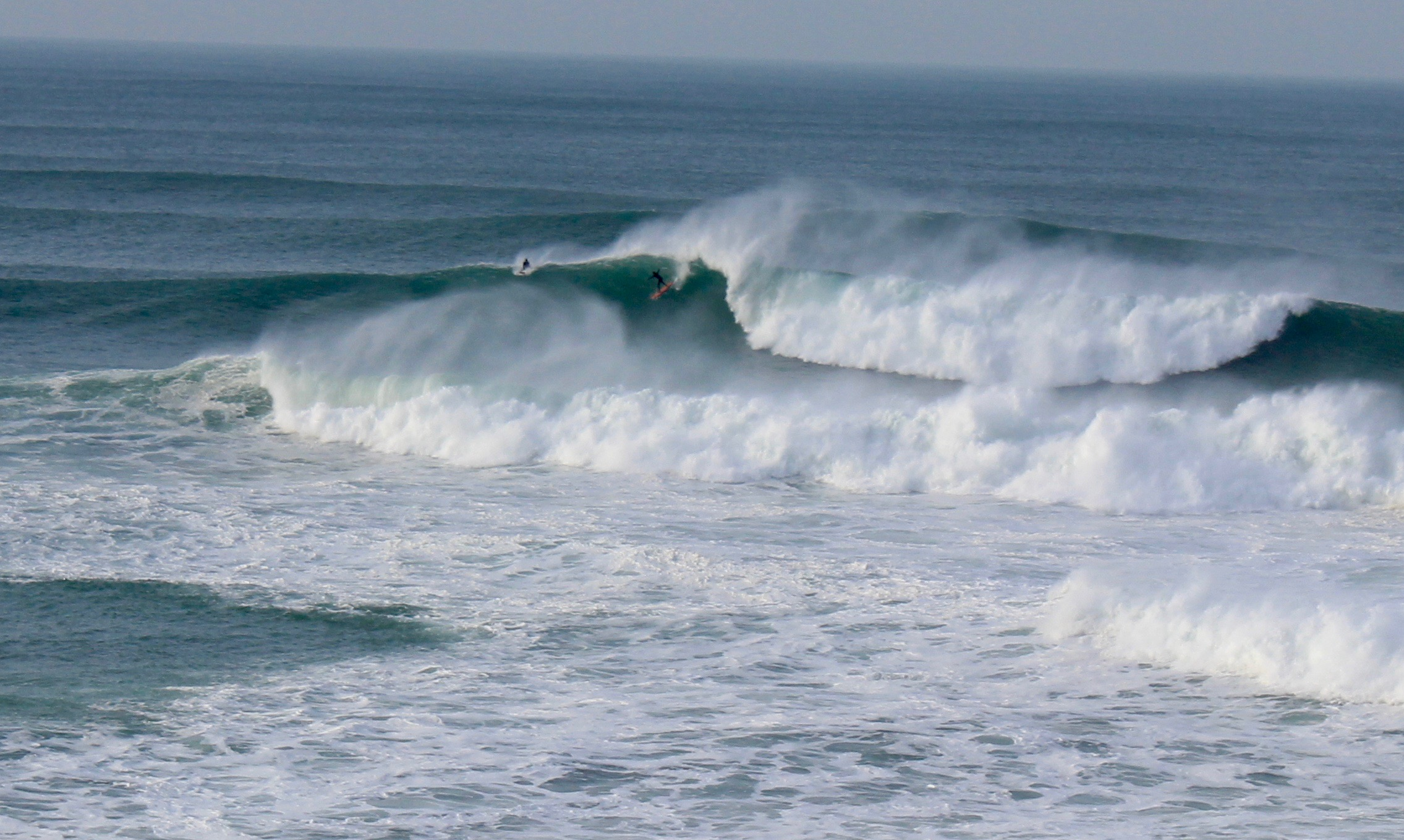 Newquay's big wave surf spot